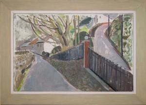 Mary Smythe - Paddock Road - framed - 30x45cm