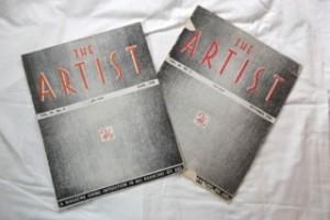 'The Artist' magazines 1945 & 1948