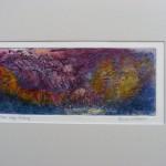 Karen Corballlis - Autumn colours - Etching (deep etch) - mounted/unframed - 41x29cm