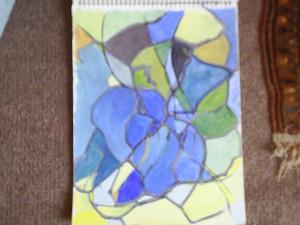 Deirdre Seymour - Abstract - Acrylic
