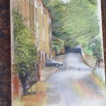 Deirdre Seymour - Paddock Lane - Pastel
