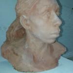 """Rose Beale - Isobel - Terracotta, 10"""" high"""