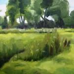 Judy Granville - Barcombe Mills - Oil