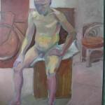 Judy Granville - Nude Study - Oil