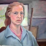 Judy Granville - Self Portrait - Oil