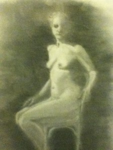 Shirley Hendley - Model - Artwork